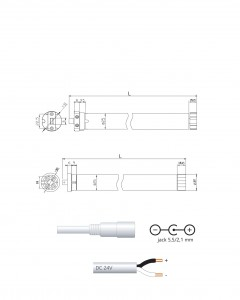AM25 1/30 - 24V DC powering